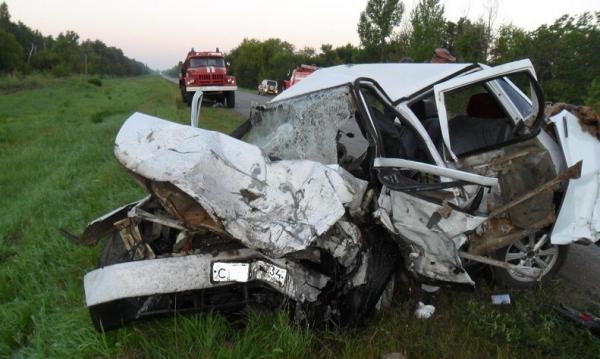 Трое стали жертвами ДТП натрассе вВолгоградской области