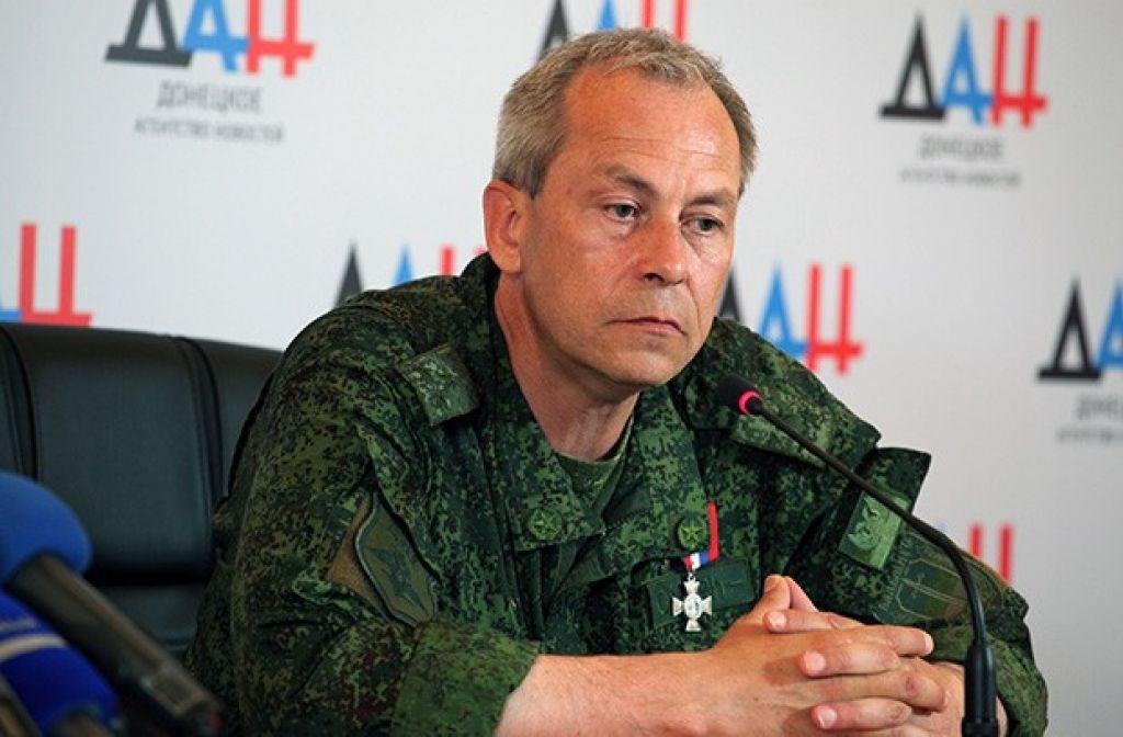 Эдуард Басурин: Украинская армия 77 раз нарушила перемирие вДНР