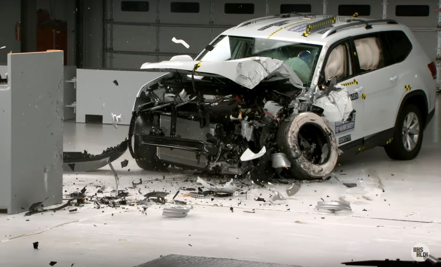 Volkswagen Atlas незаслужил оценку Top Safety Pick Plus