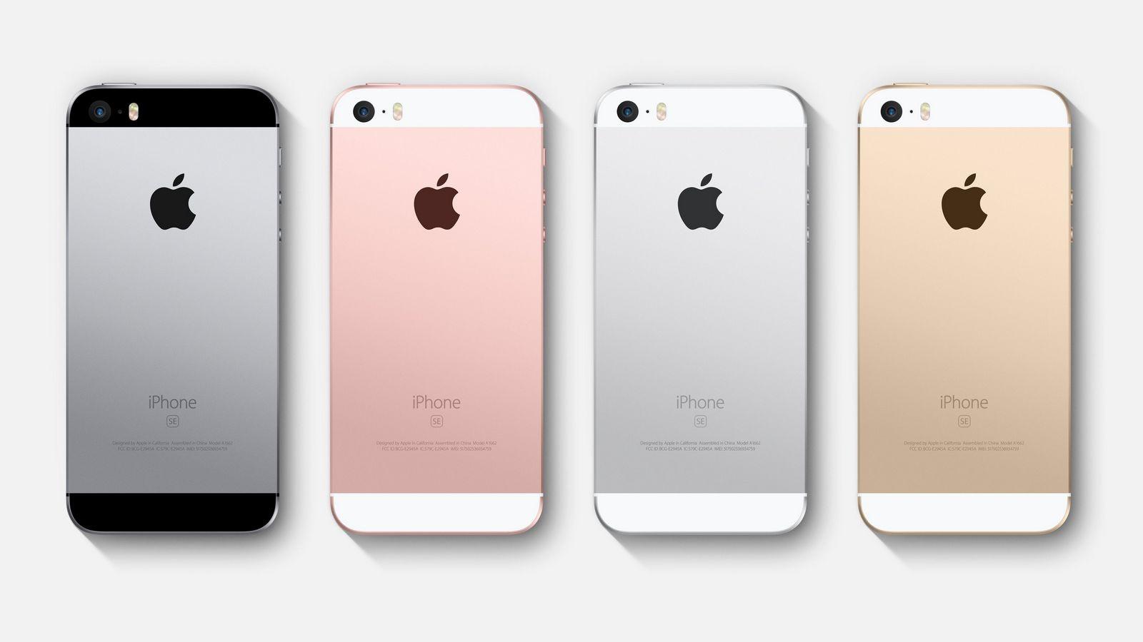 IPhoneSE следующей генерации будет представлен вначале весны  2016-го