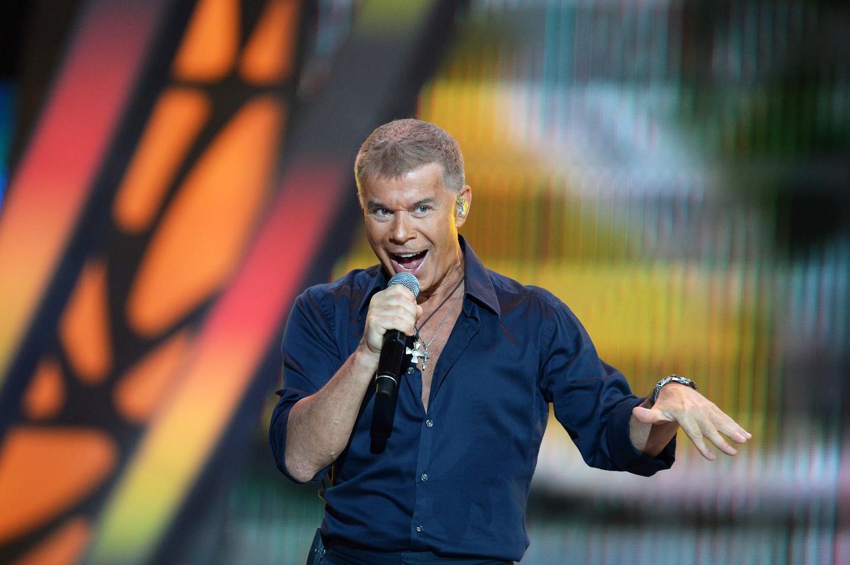 Русский солист Олег Газманов выступит вцентре Донецка вконце рабочей недели