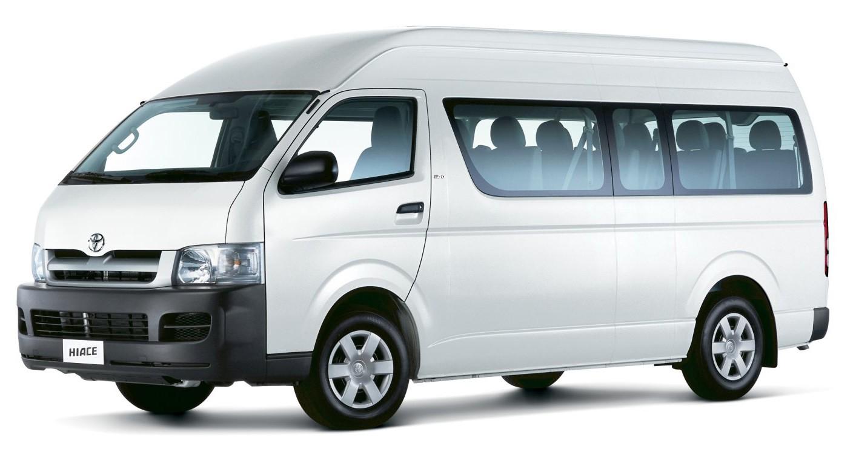 Тоёта  презентует улучшенный  микроавтобус Hiace 5-ого  поколения кначалу зимы