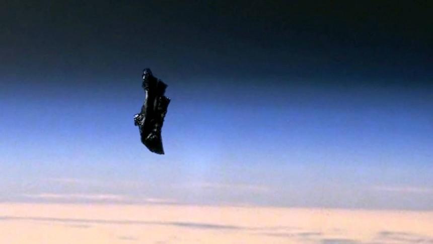 Наорбите Земли найден спутник пришельцев
