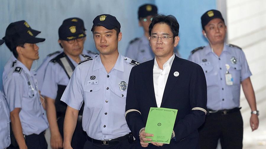 ВЮжной Корее хотят посадить на12 лет вице-председателя Самсунг