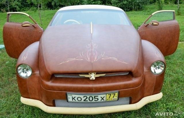 ВХимках продают уникальный автомобиль изкожи имеха