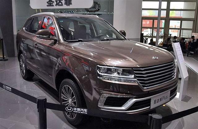 Китайский кроссовер Santa Fe7 поступит в продажу всентябре