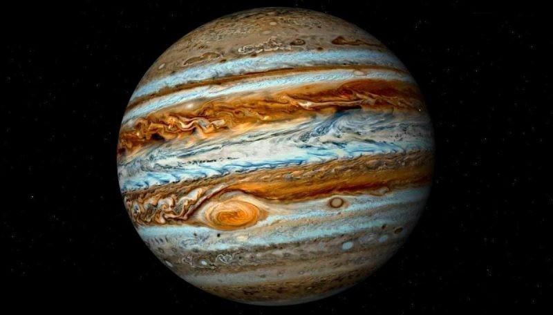 Ученые обнаружили под верхним слоем Юпитера подобную наЗемлю планету