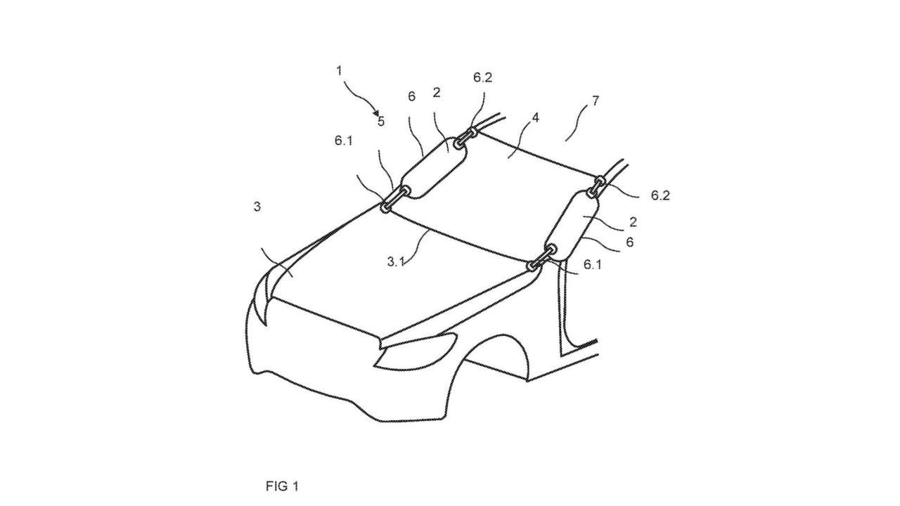 Benz запатентовал внешние подушки безопасности для пешеходов