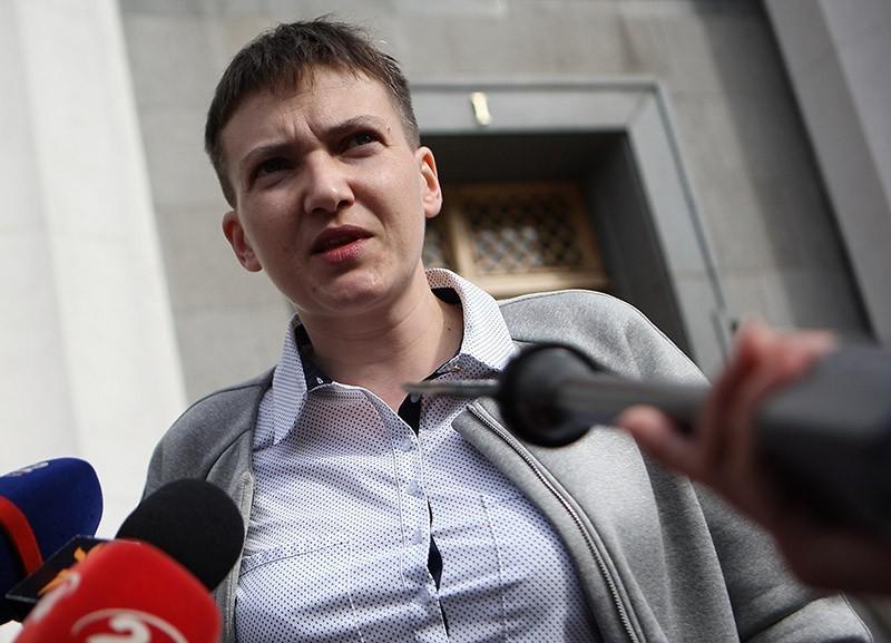 Савченко выступила против возведения «Стены» сРоссией— Тупое выбрасывание ...