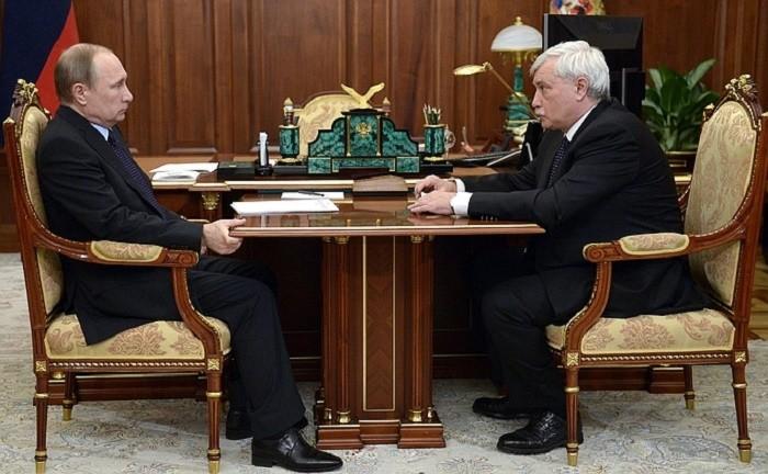 Путин потребовал разобраться суплотнительной застройкой вПетербурге