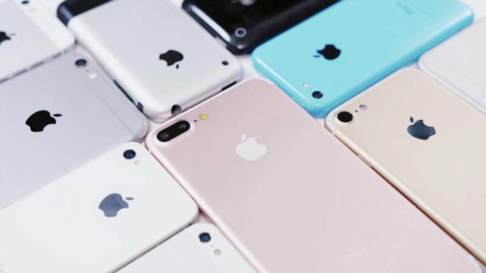 Вweb-сети интернет опубликовали все обновленные модели iPhone