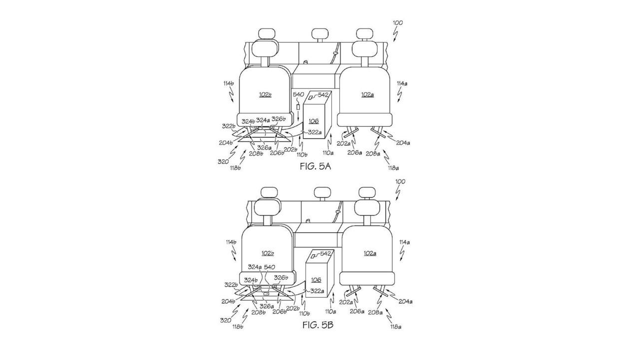 Тойота придумала устройство для вытряхивания мелочей из-под сидения
