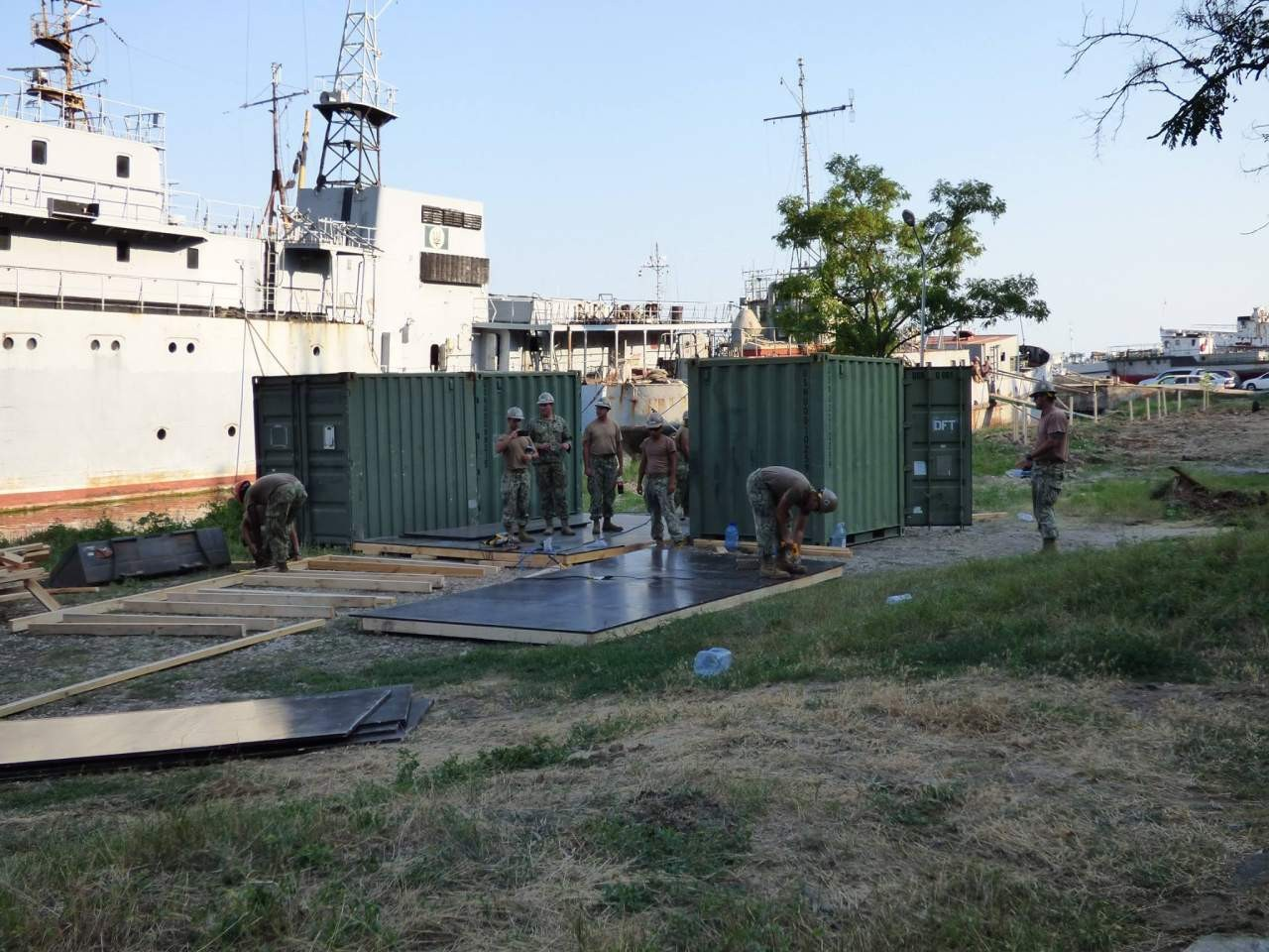 США начали размещение Военно-морского флота вгосударстве Украина