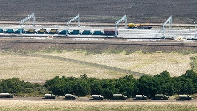 Железная дорога вобход Украинского государства уже достроена итестируется