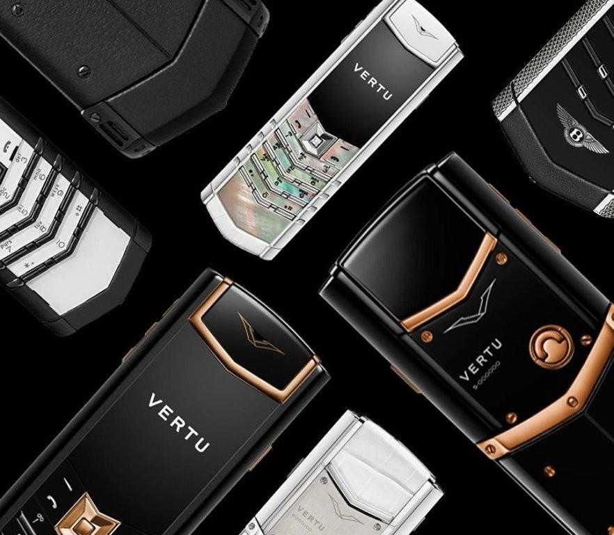 Vertu устроила распродажу драгоценных телефонов