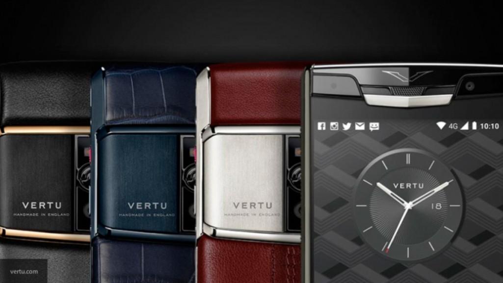 Vertu реализует нааукционе коллекцию телефонов изсобственного музея