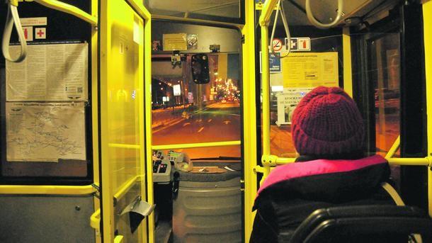 Число пассажиров наночных маршрутах столицы задва месяца выросло на20%