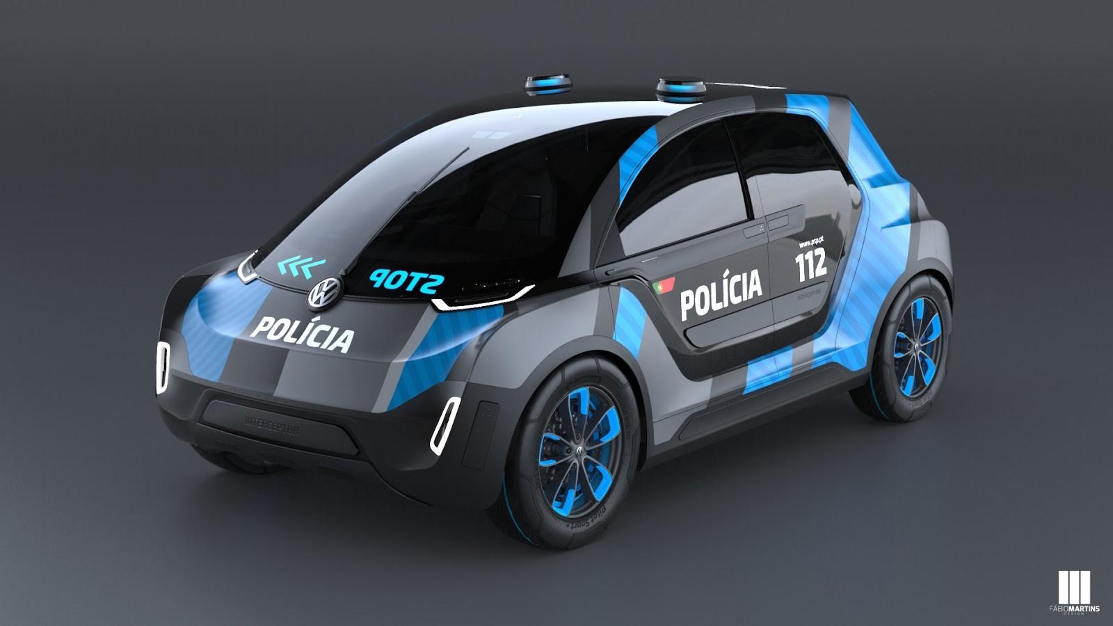 Фольксваген  Interceptor: Представлен хэтчбек для полицейских