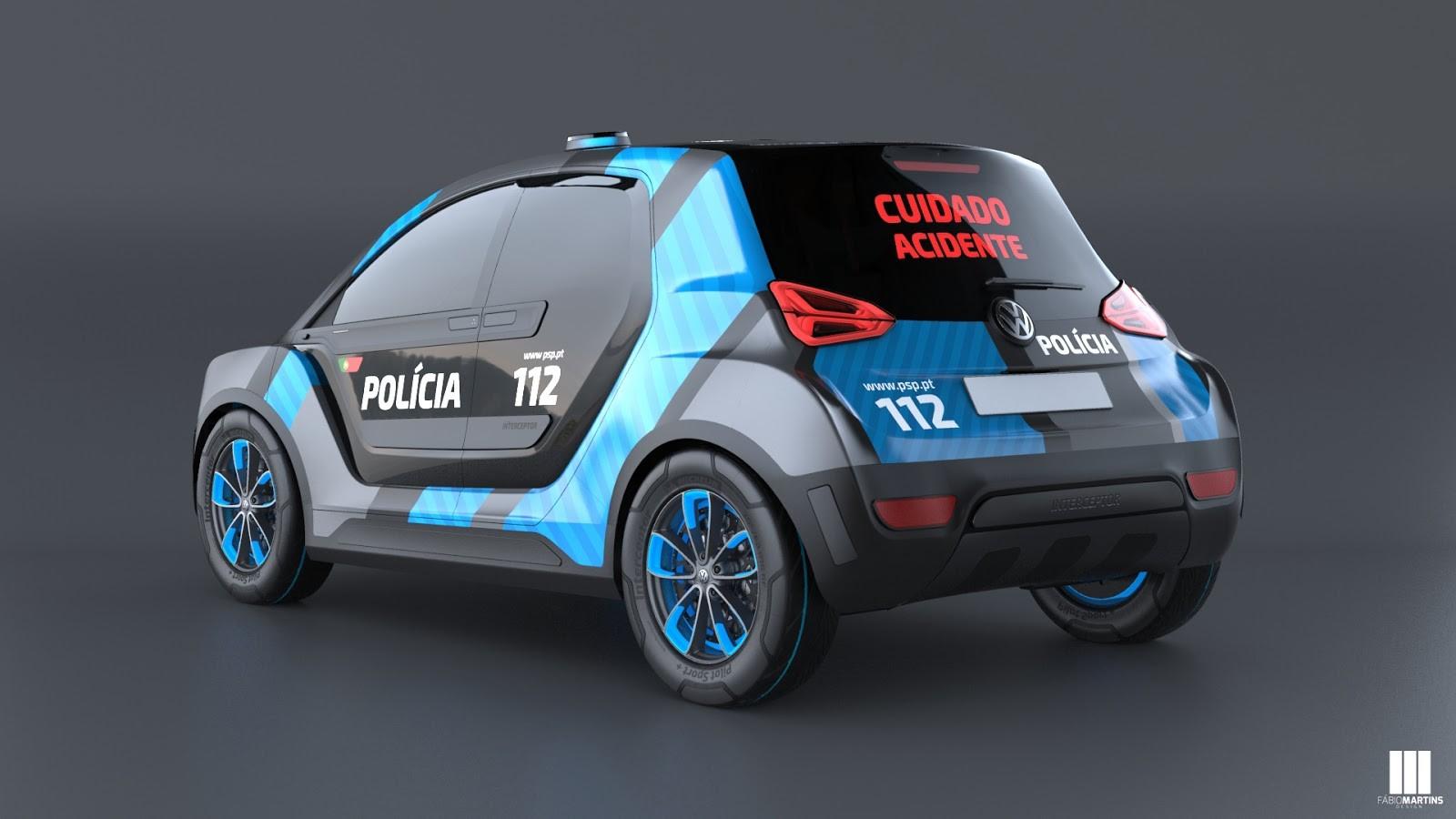 Представлен полицейский хэтчбек Volkswagen Interceptor