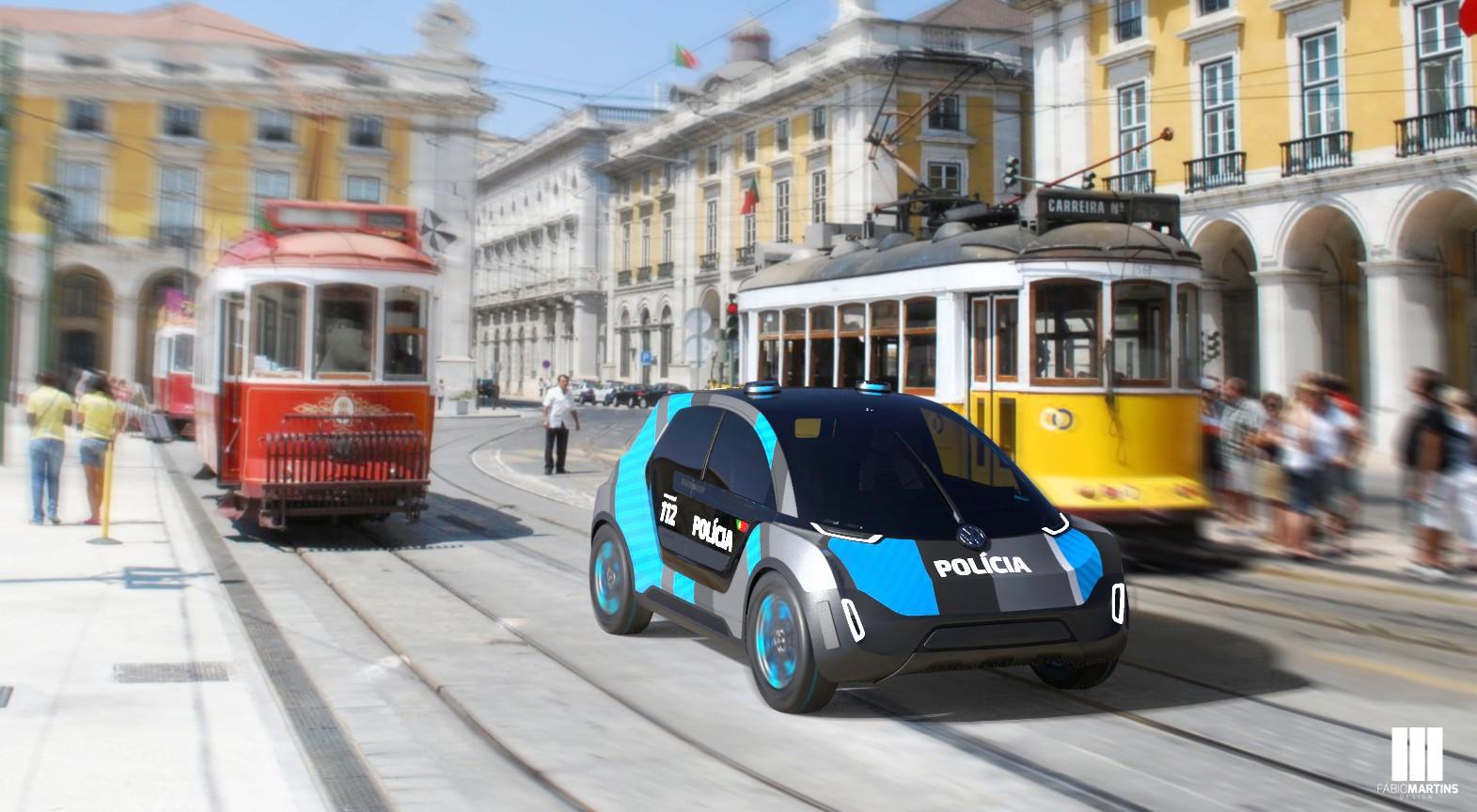 VW представил полицейский хэтчбек Interceptor