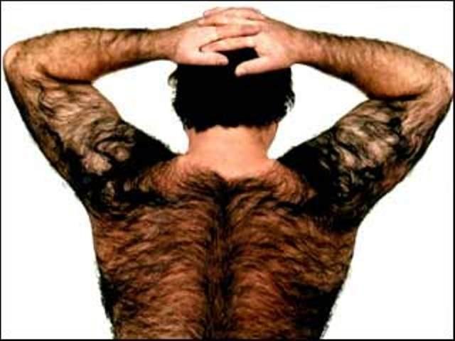 почему у мужчин волосы растут на пояснице