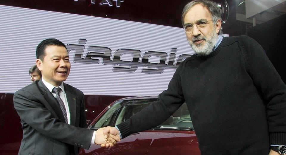 Концерн Фиат  Chrysler могут купить  китайские инвесторы