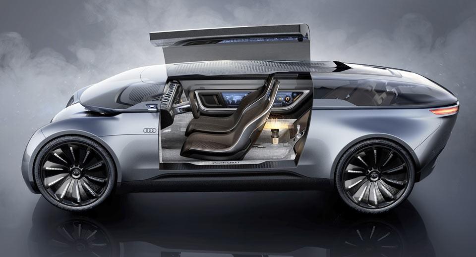 В Сети опубликовали концепцию Audi E-Tron Imperator