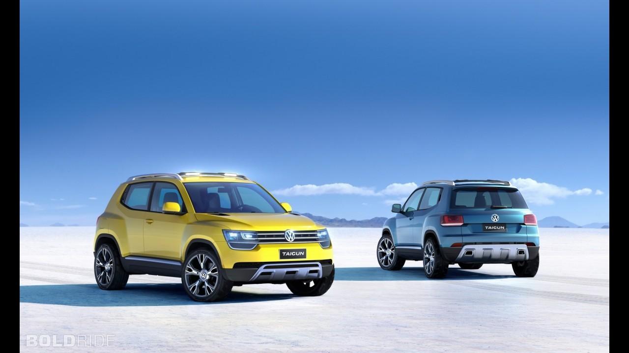 VW  создаст новый кроссовер T-Track набазе хэтчбека Up!