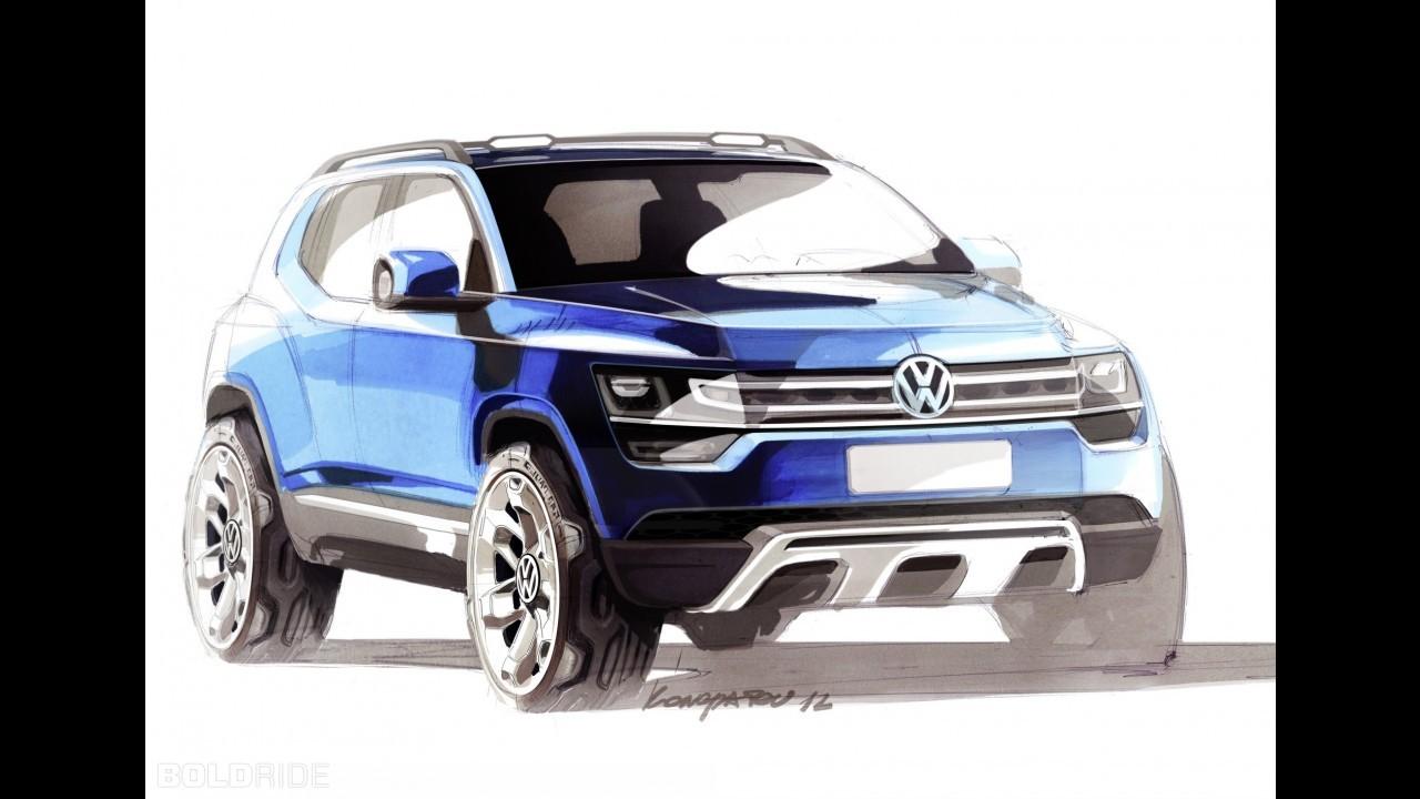 Volkswagen разморозил проект самого маленького кроссовера