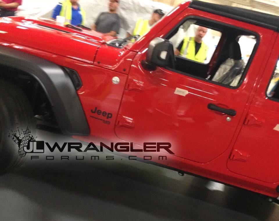 Вглобальной сети рассекретили новый Jeep Wrangler Unlimited