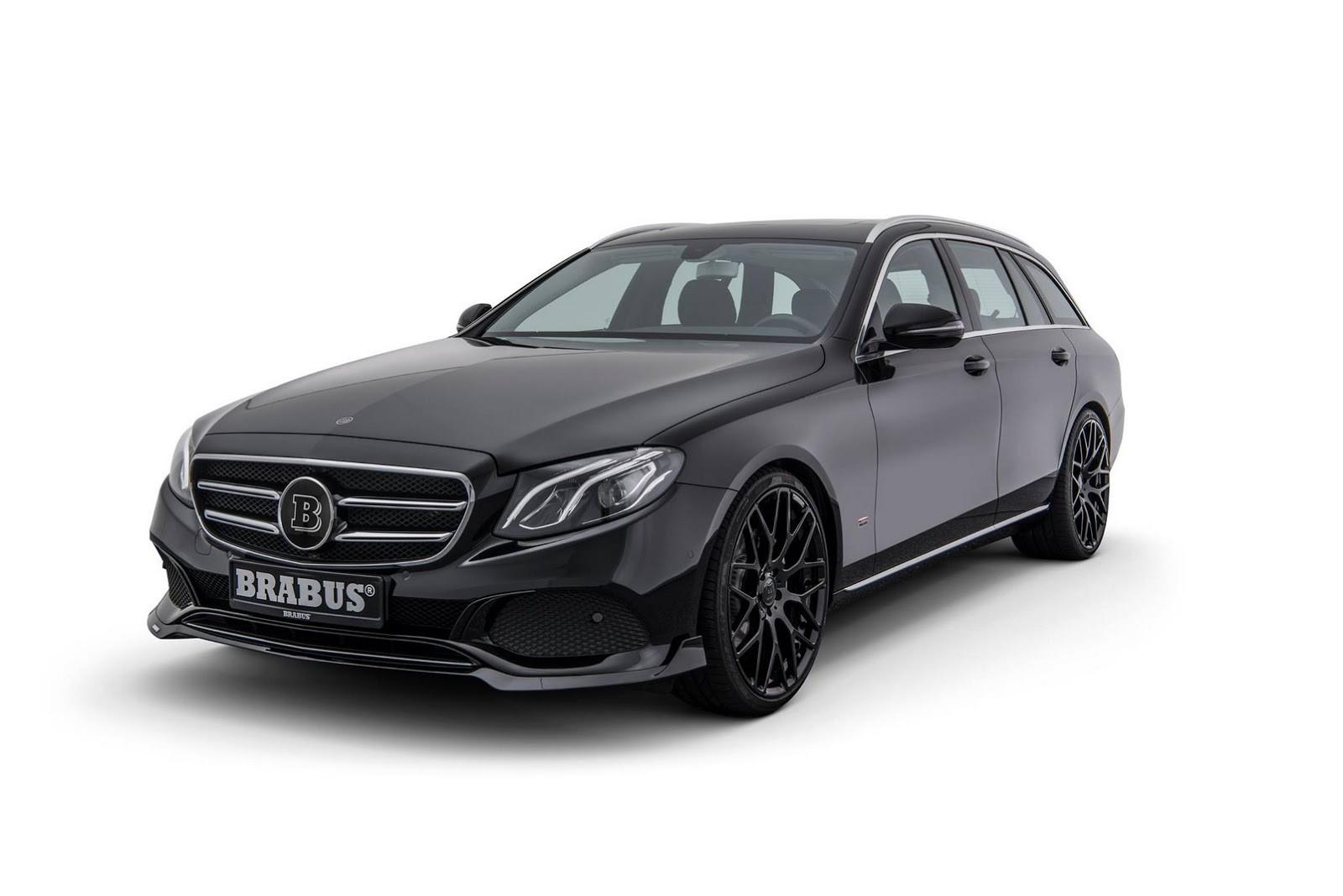 Brabus представили минимальный тюнинг для Mercedes-Benz E-Class Estate