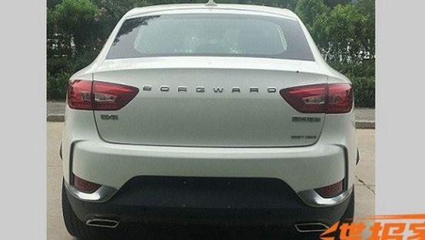 Рассекречен немецко-китайский «купеобразный» кросс Borgward BX6