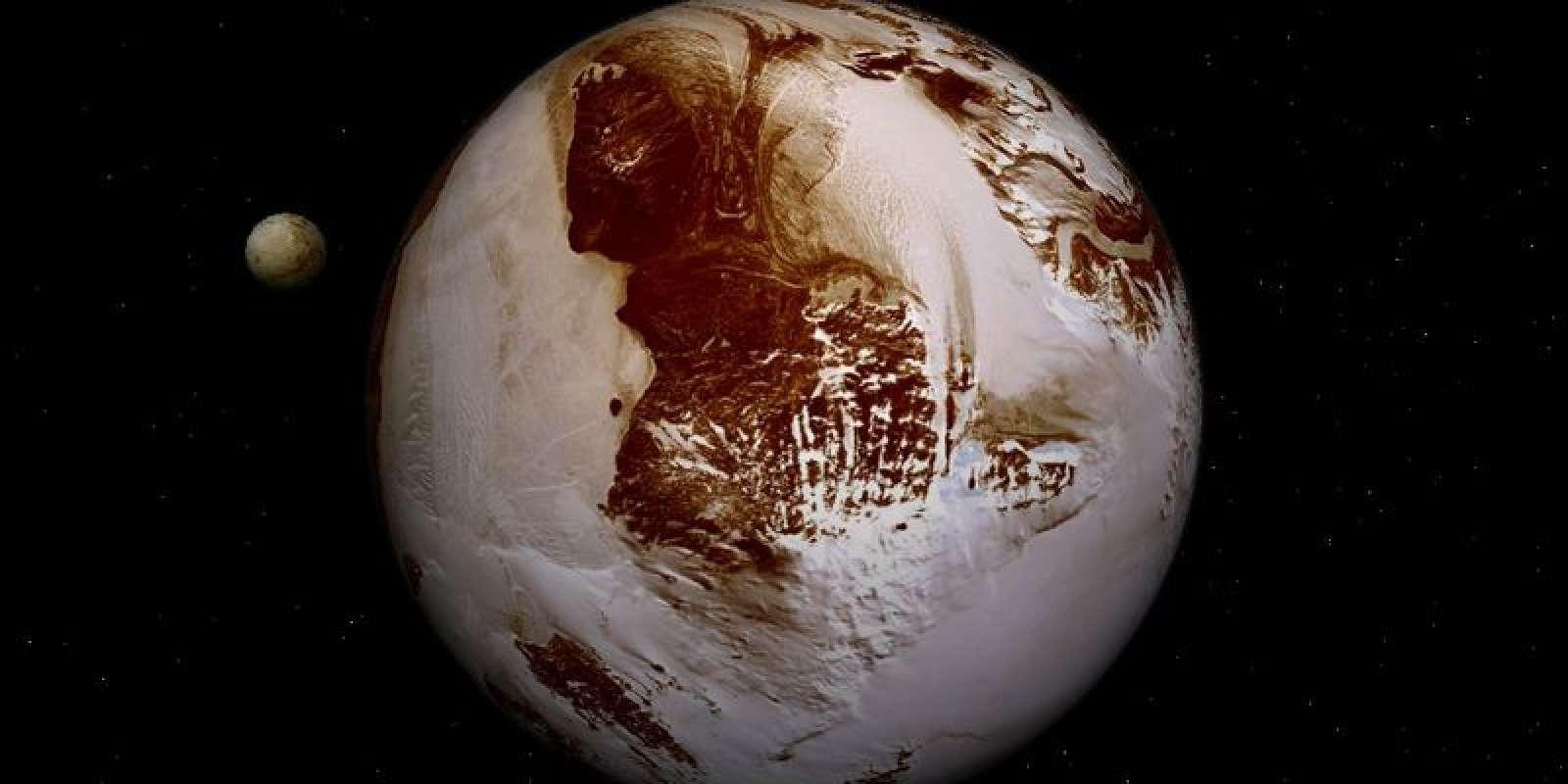 НаПлутоне найден город инопланетян, окотором умалчивали ученые— Очередная тайна NASA