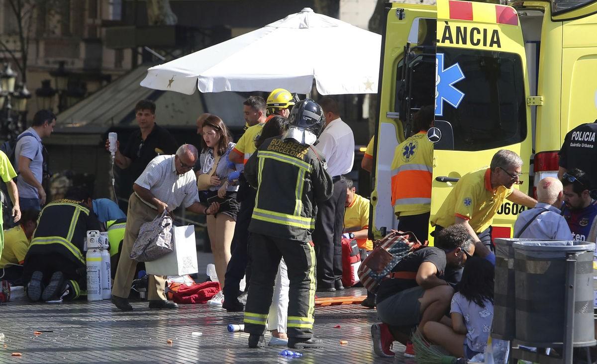 Теракт вцентре Барселоны назван атакой наолимпийские ценности