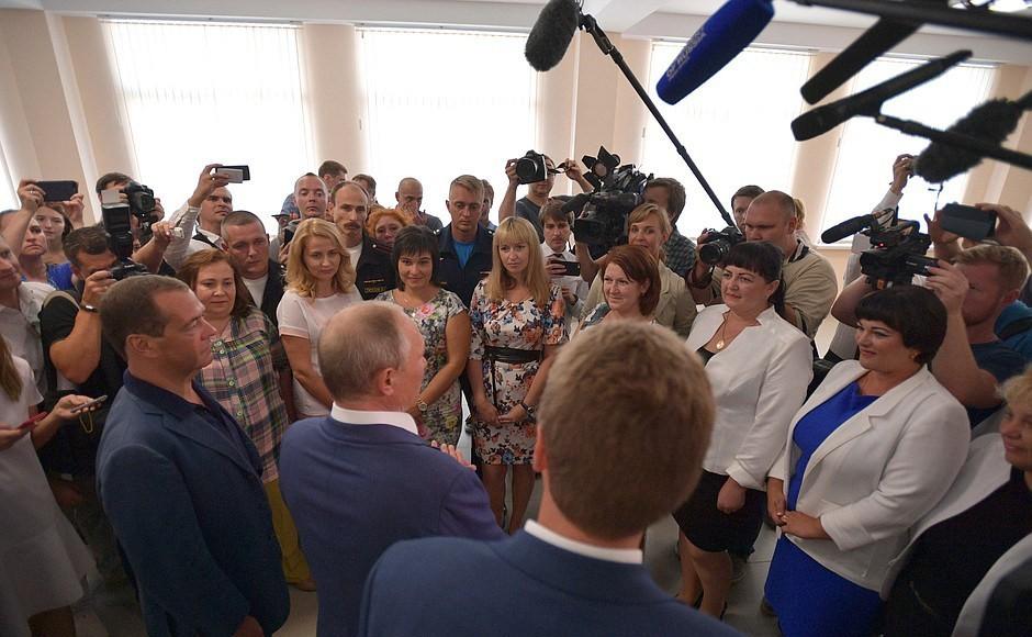 Актёры изСевастополя передали Путину «респект иуважуху»