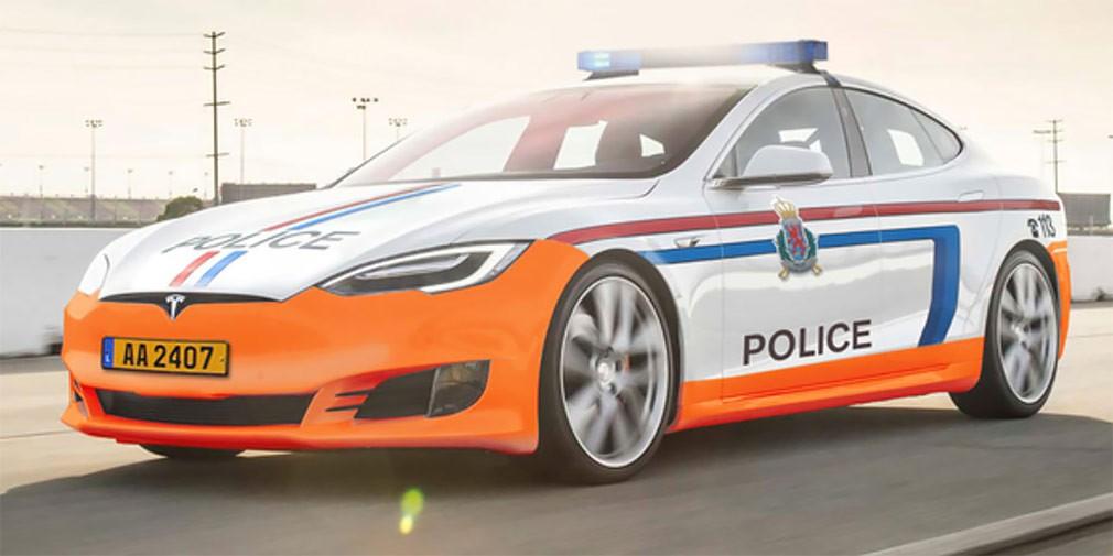 Электрокары Tesla поступят наслужбу милиции Люксембурга
