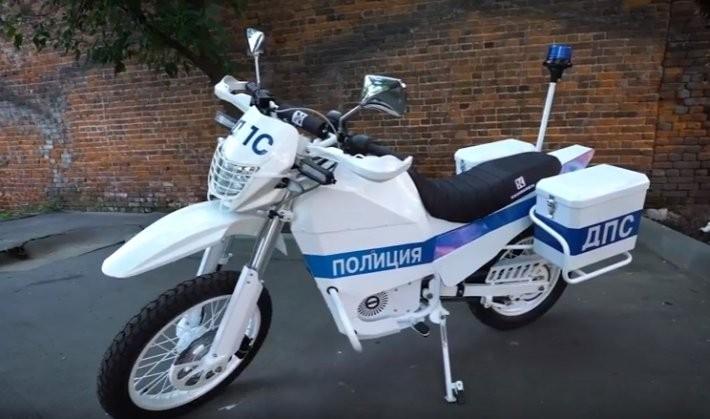 «Калашников» создал электрические мотоциклы для милиции  ивоенных