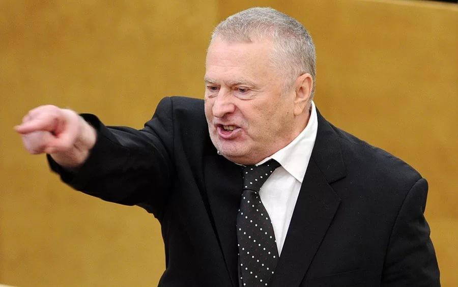 Нарынке Жириновский наторговал натри тысячи