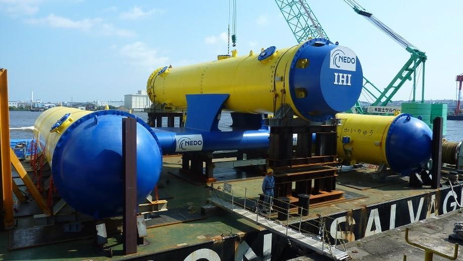 Японцы научились добывать электроэнергию при помощи океанских течений