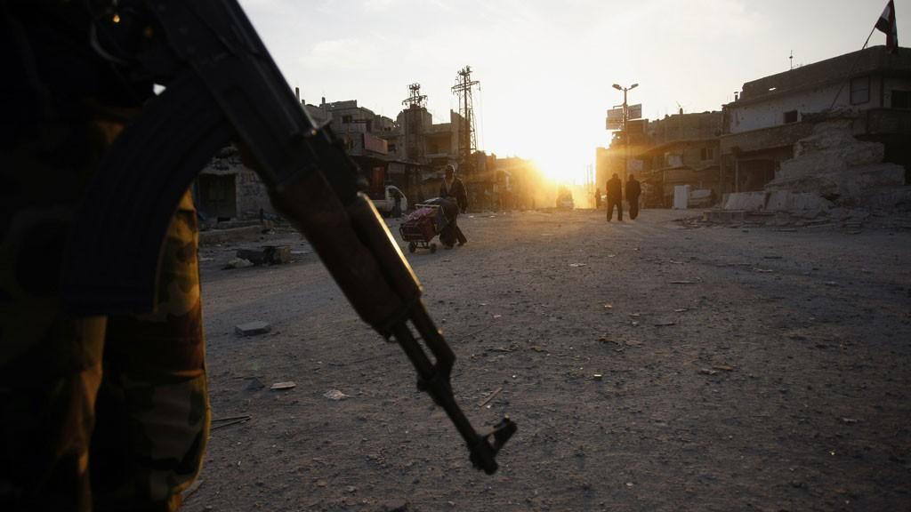 Террористы обстреляли промышленную выставку вДамаске, есть жертвы