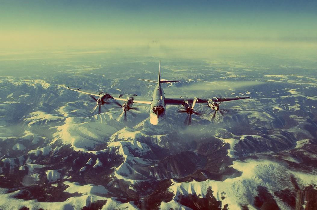 Самолеты ВВС Ю.Кореи иЯпонии сопроводили русские бомбардировщики над Тихим океаном