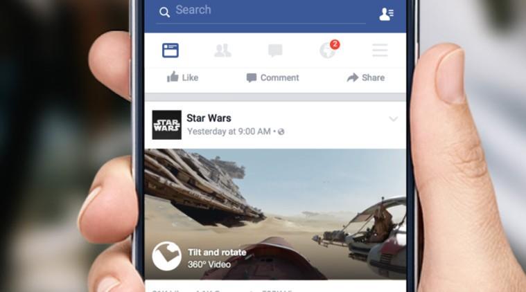 Юзеры фейсбук сейчас могут снимать 360-градусные фотографии