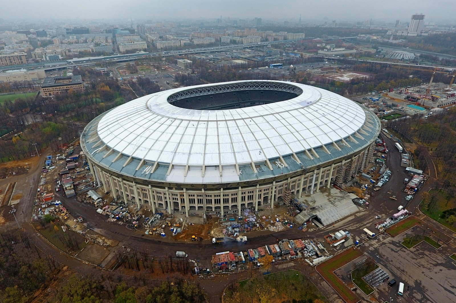 «Лужники» раскроются матчем РФ - Аргентина