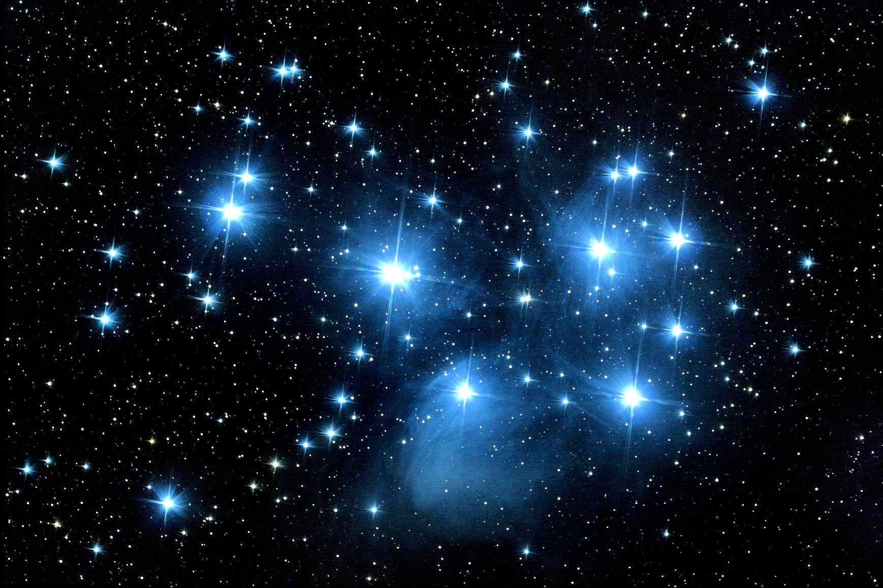Внутрь созвездия Плеяд заглянули ученые NASA
