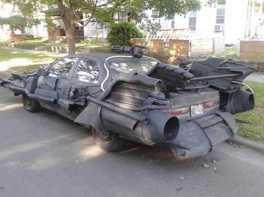 ВСША появился «Бэтмобиль» наоснове Тойота Camry