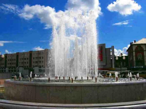 На день ВДВ в Калининграде отключили все фонтаны