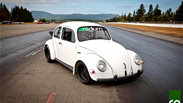 На продажу выставлен Volkswagen Beetle с мотором Subaru STI