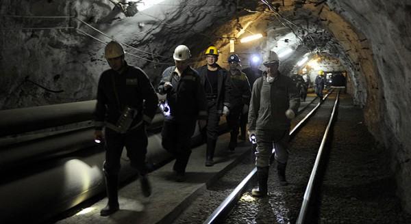 На руднике