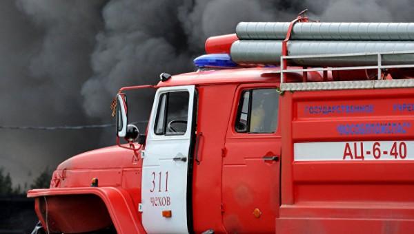 В Подмосковье пожар в заброшенном доме унёс жизни четырёх человек