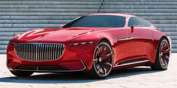 Mercedes-Maybach презентует роскошный автомобиль в США